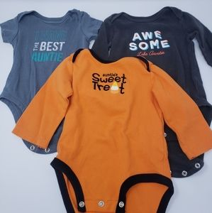 Carters Baby Aunt Bodysuits Halloween Awesome